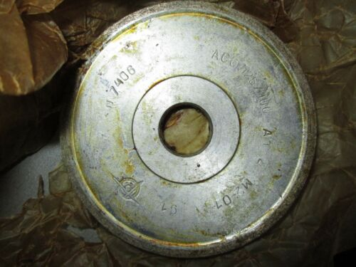 GRINDING DIAMOND WHEEL TYPE 1A1 100x10x20x3mm AC6 M2-01 125//100 USSR