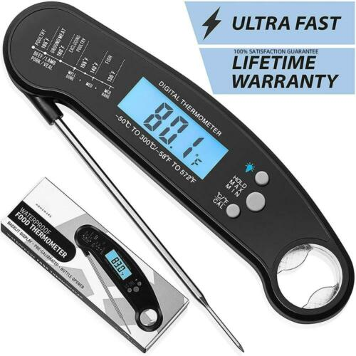 SmokinTek Food Thermometer Cooking Thermometer Meat Thermometer Probe BBQ