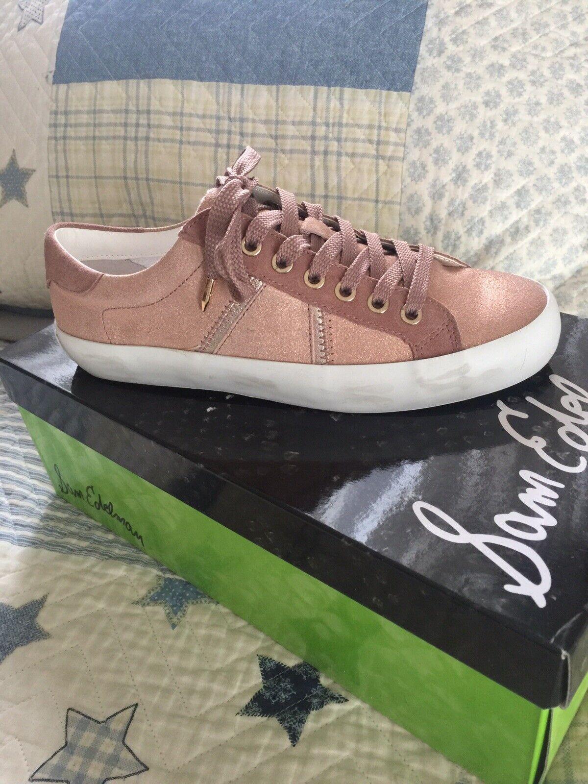 Sam Sam Sam Edelman Baylee Sneaker   bluesh pink    6M f584b2