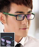 TR-90 Light Colorful Eyeglass Frame Man Women Full-Rim Glasses Spectacles Optic