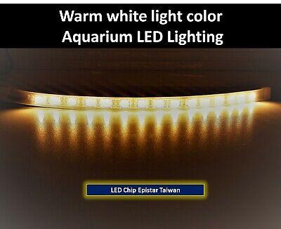 red green white 36inc 90cm blue LED lighting Aquarium Tank 12inc // 30cm