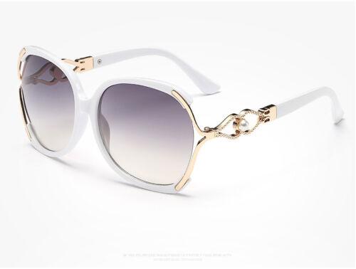 Damen Mode Retro Perle Designer Sonnenbrille Außen Brillen Brillen