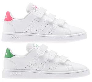 ADIDAS-ADVANTAGE-C-scarpe-bambino-bambina-stan-sportive-smith-sneakers-pelle