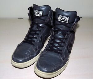 converse leather hi ebay