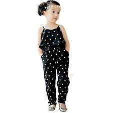 77ac8d5f0bc item 3 Toddler Kids Baby Girls Summer Strap Romper Jumpsuit Harem Pants  Outfit Set Lot -Toddler Kids Baby Girls Summer Strap Romper Jumpsuit Harem  Pants ...