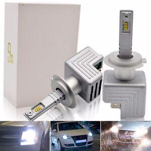 Safego-H4-H7-H8-H9-H11-LED-Auto-Scheinwerfer-Lampen-Kit-Umbausatz-Birnen-12V