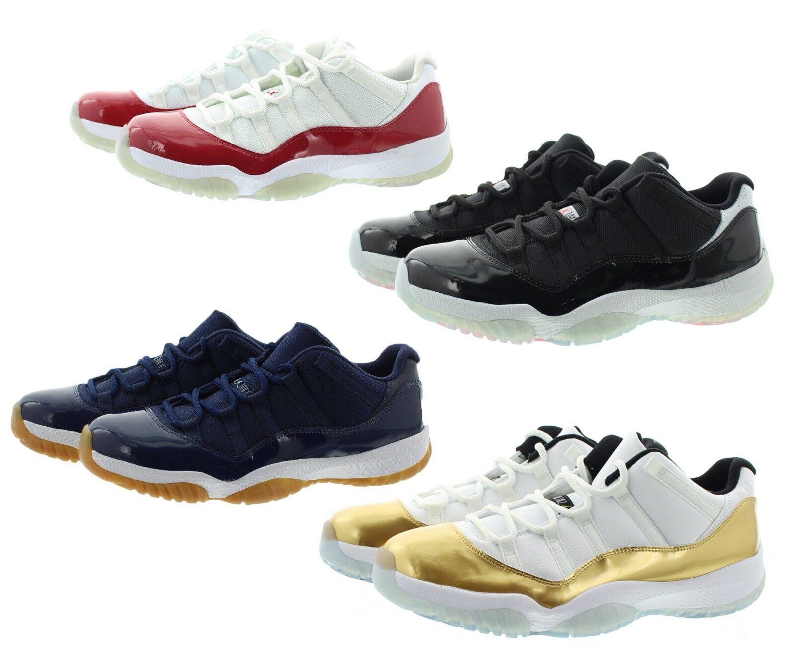 Nike 528895 Mens Air Jordan 11 Retro Shoes Infrared Low Top Basketball Shoes Retro Sneakers d27f6e