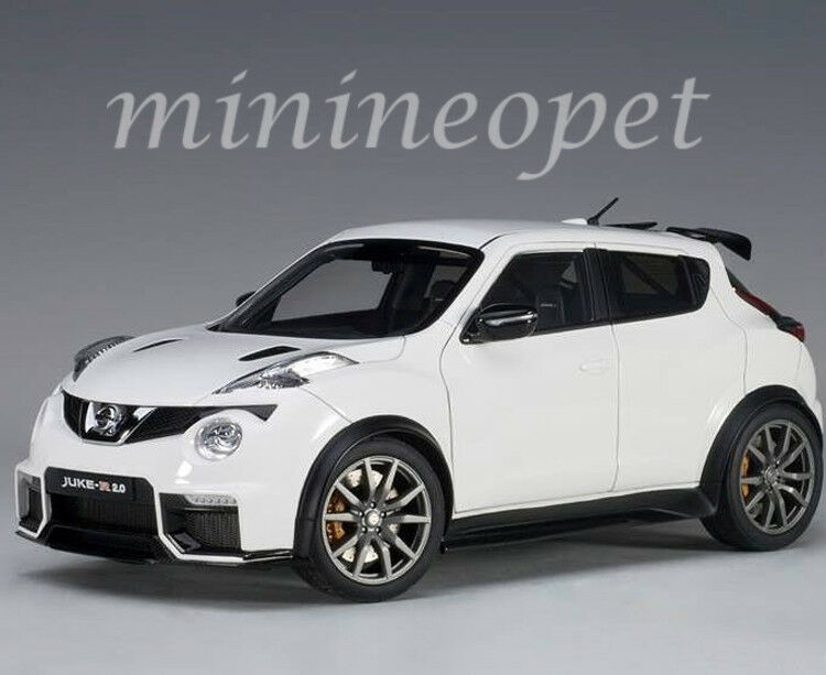 AUTOART 77456 Nissan Juke R 2.0 1 18 Voiture Modèle Blanc