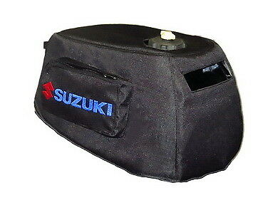 Suzuki Outboard DF4 DF5 DF6 Engine Cowling Cover with Logo and two side  pockets