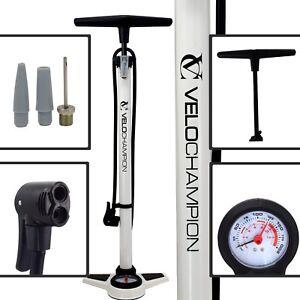 VeloChampion-Bike-Floor-Track-Pump-Pro-High-Pressure-Standing-Bicycle-Tyre-Hand