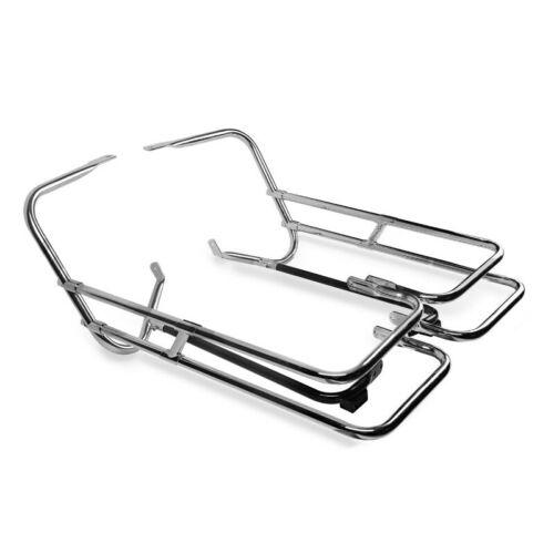 Support de sacoche Twin Rail pour Harley Touring 97-08 protection arrière