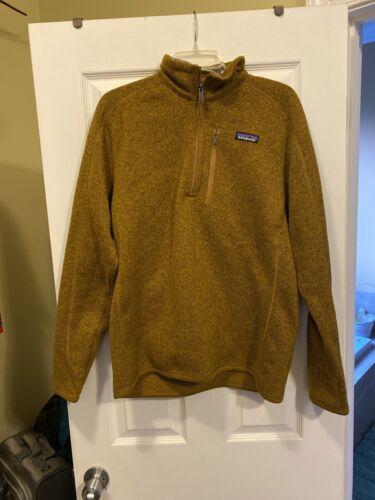 mens patagonia better sweater medium