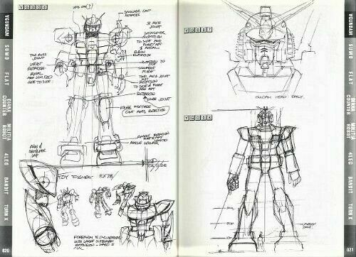 MEAD GUNDAM Syd Mead Turn A Gundam Mobile Suit Design art book japan limted