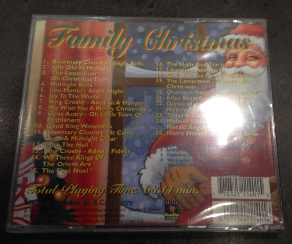 FAMILY CHRISTMAS: UÅBNET CD/ COVER, andet