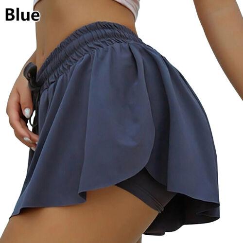 Women Shorts Elastic Waist Summer Beach Casual Loose Running Gym Hot Pants
