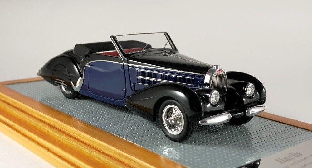 Ilario 43113-bugatti t57sc aravis cabriolet gangloff 1939 sn57798 current 1 43