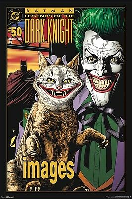 BATMAN ~ LEGENDS DARK KNIGHT #50 JOKER 24x36 ART POSTER  DC Comic Book Bolland