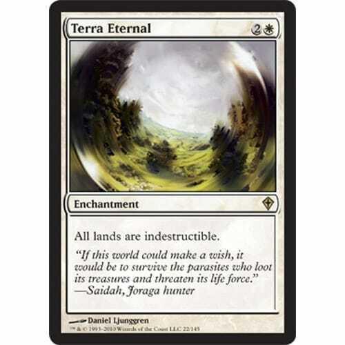 MTG WORLDWAKE Terra Eternal