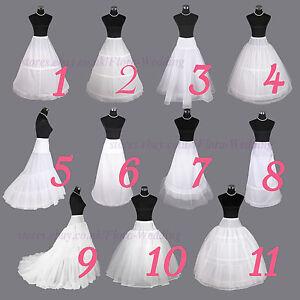 Wedding-Petticoat-Bridal-Hoop-Hoopless-Crinoline-Prom-Underskirt-Fancy-Skirt