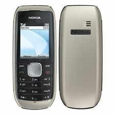 New Condition Nokia 1800 -Black & Champagne Unlocked Simple Phone - Warranty