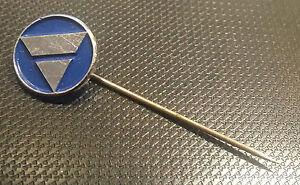 AUTOBIANCHI-PIN-DE-SOLAPA-Azul-BARNIZADO-13mm-ANOS-80