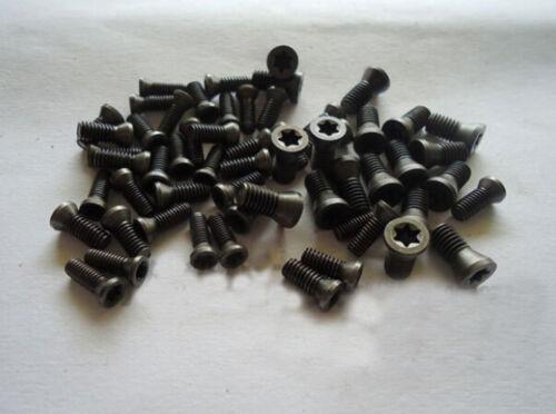 20pcs M4.5 x 12mm Insert Torx Screw for Carbide Inserts Lathe Tool /& Screwdriver