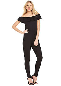 Bardot Size 10 Black Jumpsuit Women's Clothing