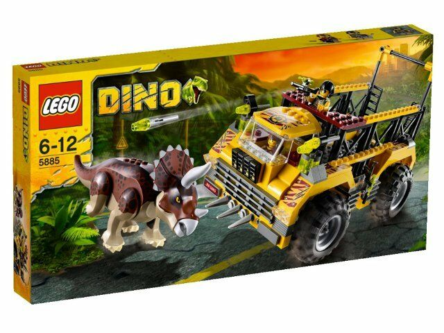 NEW Lego Dino 5885 Triceratops Trapper SEALED