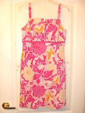 Women's ISLAND REPUBLIC Sun Dress Size 8-10 Lilly Pulitzer Lookalike SteinMart!