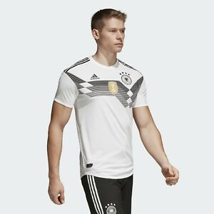Details about Adidas Germany 2018/19 HOME Men's Soccer Jersey BR7313 Size XL MSRP $130