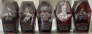 Living Dead Dolls Complete Moulin Morgue Series