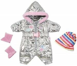 Zapf-Creation-Baby-Born-Deluxe-Trend-Snowsuit-Doll-Outfit-Set-For-43cm-Dolls