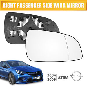 WING-MIRROR-GLASS-HEATED-Right-Drivers-NEARSIDE-FITS-VAUXHALL-ASTRA-H-MK5-04-08