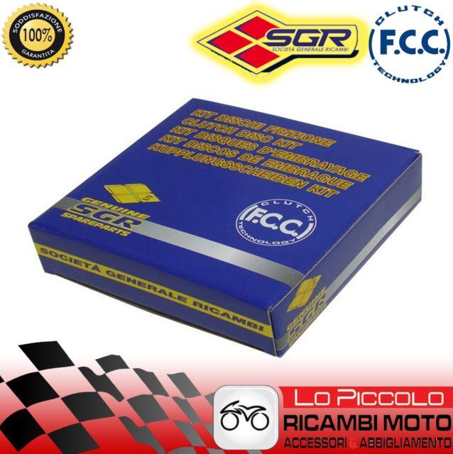 Set Discos Embragues Recortado FCC Kawasaki ZX6RR 2005 2006 2007