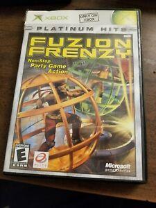 Fusion-Frenzy-Platinum-Hits-Microsoft-Xbox-2004-FREE-SHIPPING