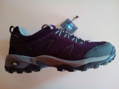 POLARINO Mountain Low Femmes Trekking Chaussures des Rangers violet taille 41 NEUF