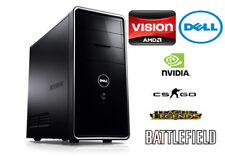 Dell Gaming PC AMD Quad Core 3.2GHz| 8GB RAM| 4GB Geforce Graphics| 750GB HD