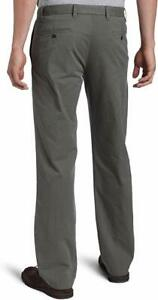 Dockers-Men-039-s-Soft-Khaki-D1-Slim-Flat-Front-Pant-Color-Gray-Size-W32xL30