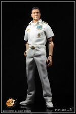 "1:6 Pop Toys US Navy Costume Suit in White Accessories for 12"" Action Figure X05"