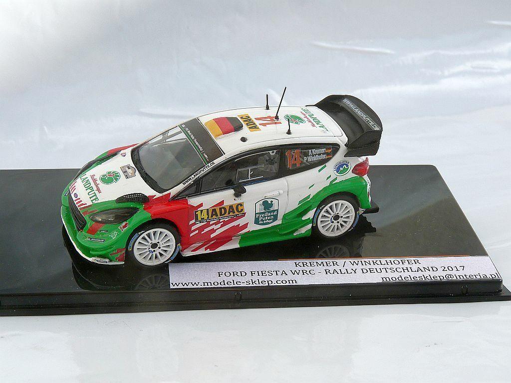 Armin Kremer Winklhofer FORD FIESTA WRC RALLY ALLEMAGNE 2017 code 3 1 43