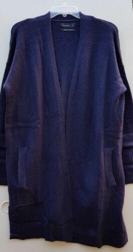 RRP £35 WOMEN/'S NEW WOOL BLEND SOFT /& WARM CARDIGAN UK 12 NAVY