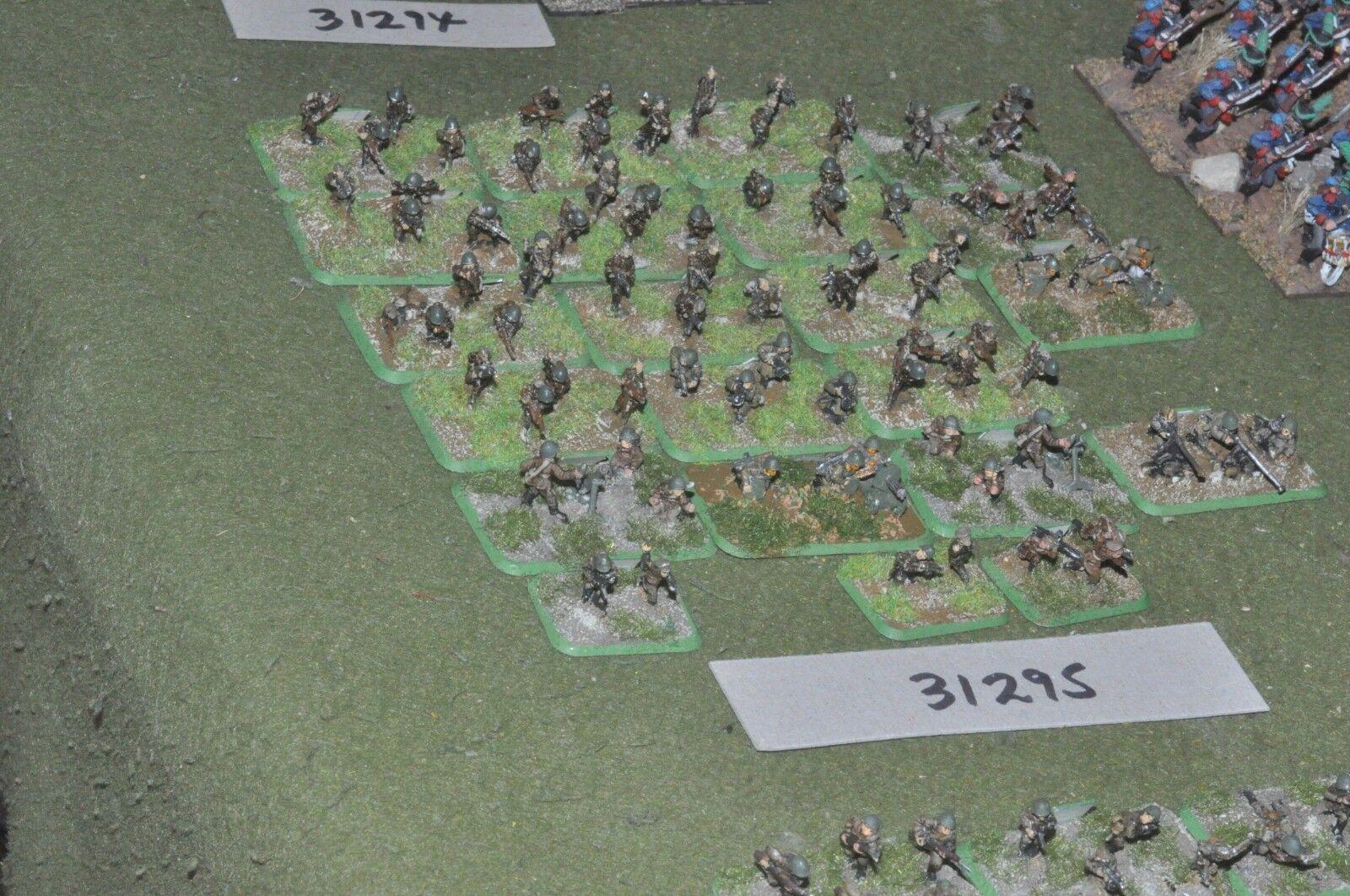 15mm WW2   russian - battle group 80 figures - inf (31295)