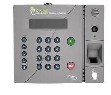 Totalpass Small Business Premium Biometric Time Clock Tp Bio New Authorized