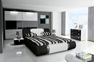 awesome schwarz weiß schlafzimmer gallery - home design ideas
