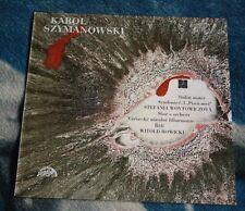 SZYMANOWSKI STABAT MATER. SYMPHONY No. 3 LP SUPRAPHON 1 12 1467 ROWICKI