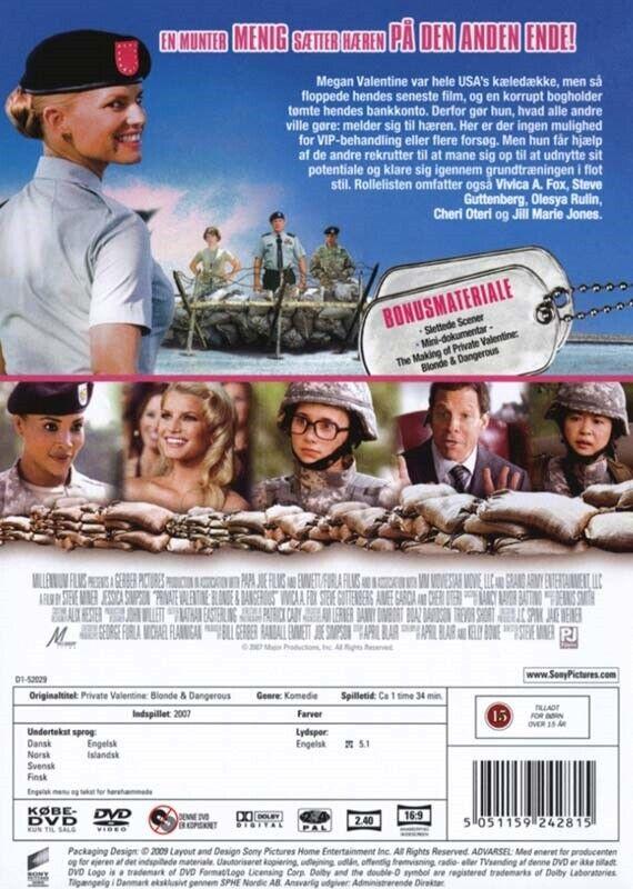 Private Valentine: Blonde & Dangerous, instruktør Steve