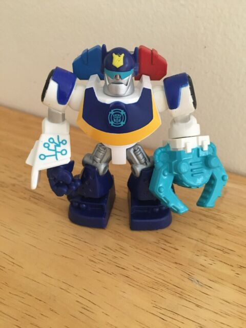 Free Shipping New Playskool Transformers Rescue Bots Salvage Figure