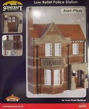 Bachmann Scenecraft OO Gauge 44-271 Low Relief Police Station
