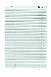 Réglable 80 cm large x 140 cm Drop Aluminium Store Vénitien Blanc Mur Plafond