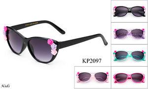 d0955fdc33 La imagen se está cargando Gafas-de-Sol-para-Ninos-Nina-Bebes-Flores-